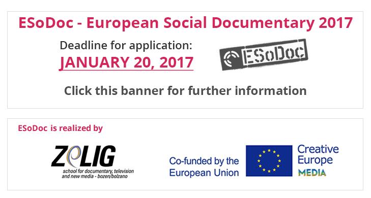 Deadline ESoDoc 2017