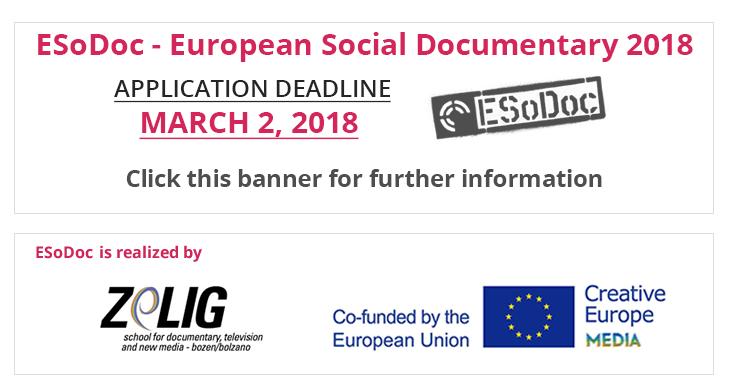 Deadline ESoDoc 2018