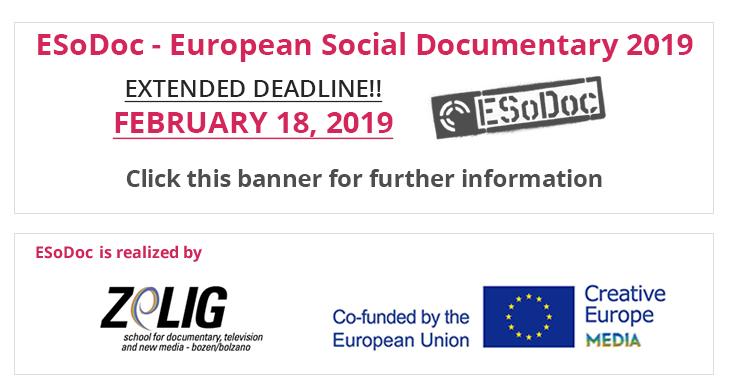 Deadline ESoDoc 2019