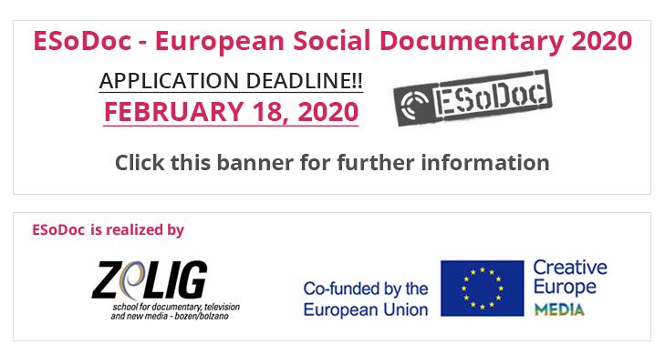 Deadline ESoDoc 2020